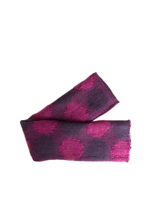 Roda Fuchsia Wool Scarf
