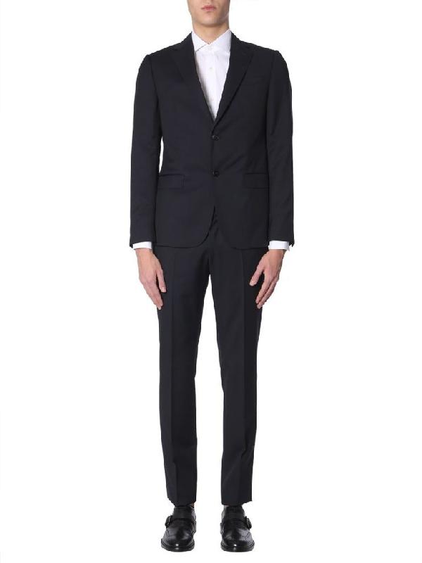 Z Zegna Men's Grey Wool Suit