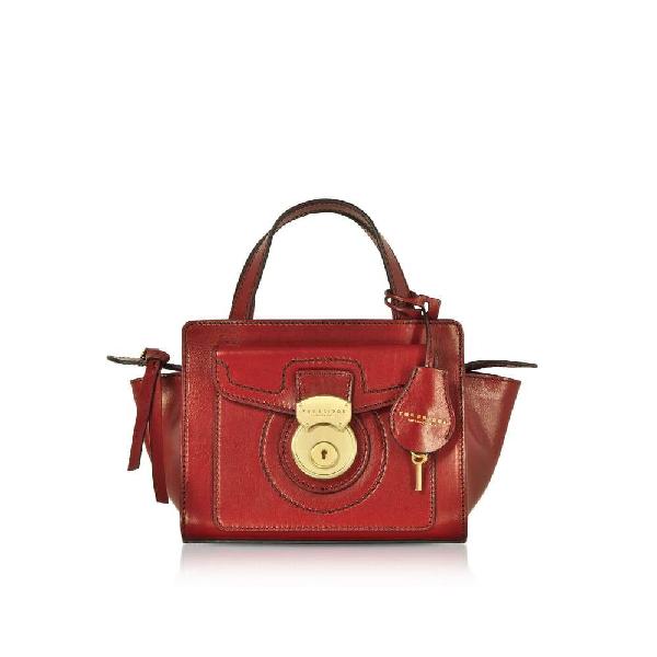 The Bridge Women's Red Leather Handbag