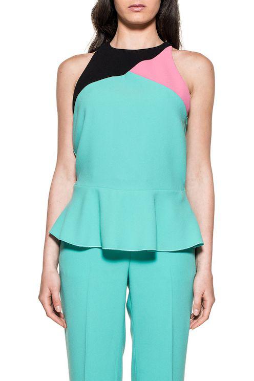 Pinko Women's 1g136u6352sz5 Green Polyester Top