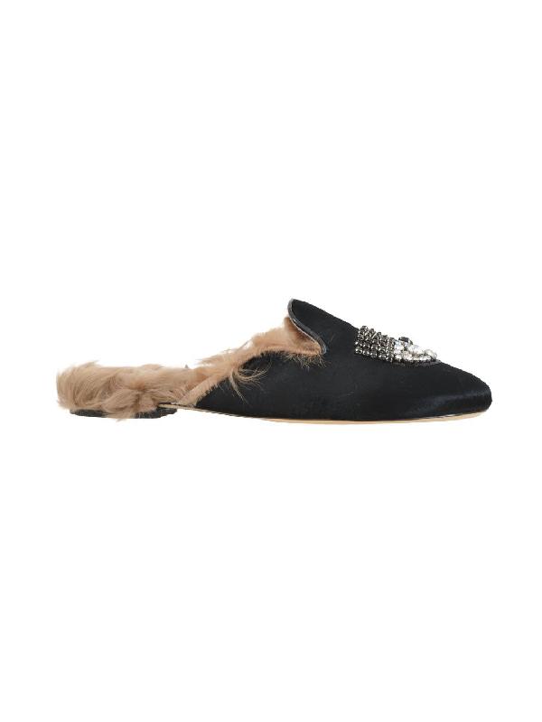 Chiara Ferragni Black Sandals