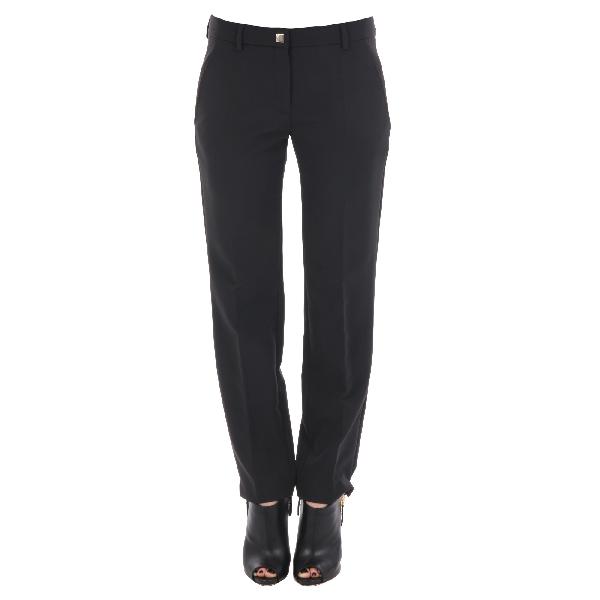 Versace Women's G34539G602166G1008 Black Polyester Pants