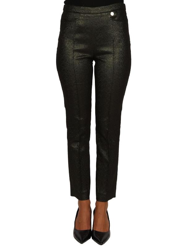 Versace Women's G34769G604181G8574 Silver Cotton Pants
