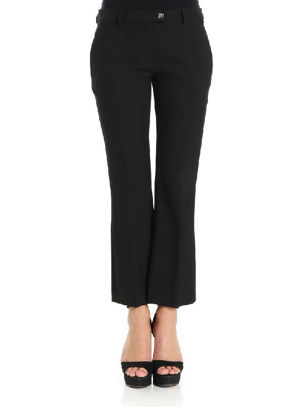 Versace Women's G35352G600556G1008 Black Polyester Pants