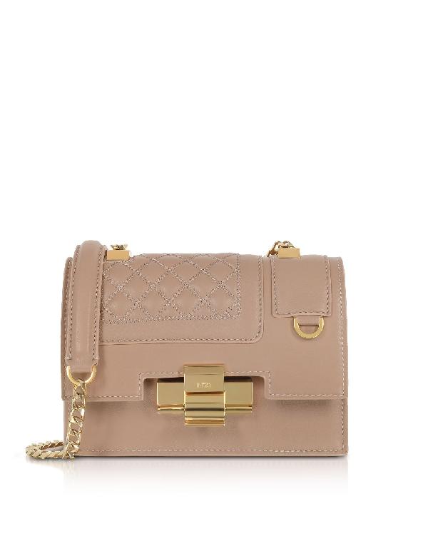 N°21 N&Deg;21 Women's N04125Npo011N0120 Pink Leather Shoulder Bag