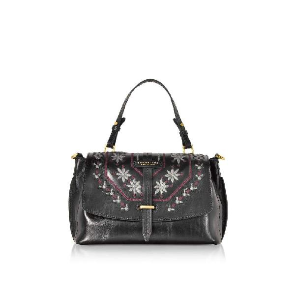 The Bridge Women's Black Leather Handbag