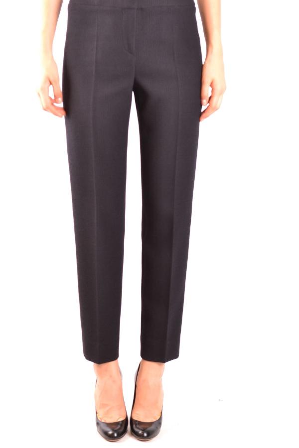 Armani Collezioni Black Wool Pants