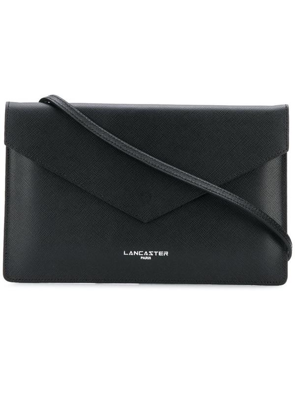Lancaster Paris Women's Black Leather Pouch