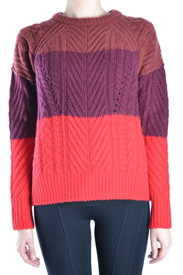 Marc By Marc Jacobs Red Wool Sweater
