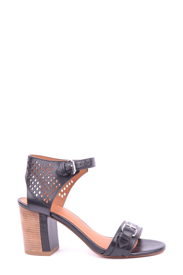 Marc By Marc Jacobs Black Leather Sandals