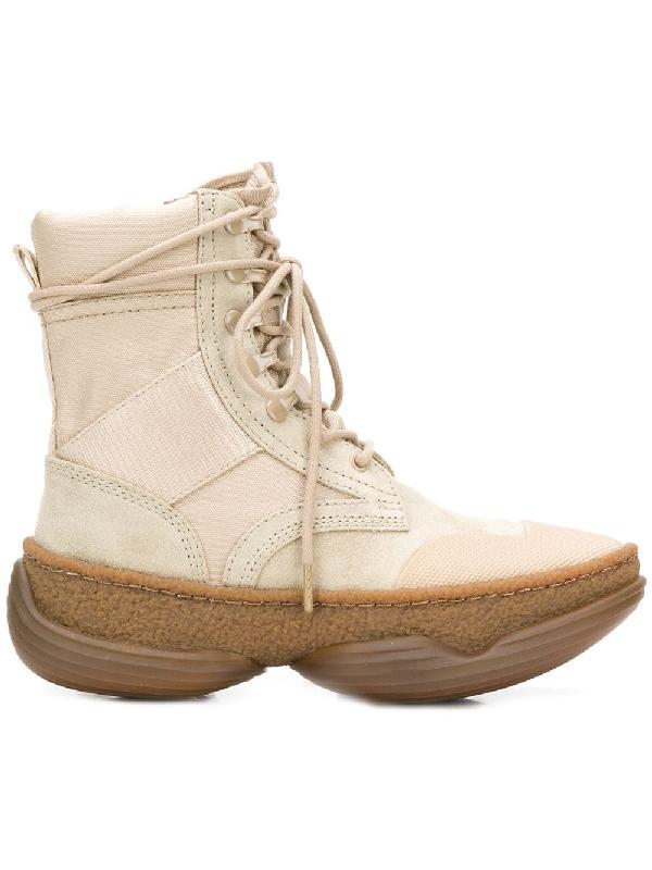 Alexander Wang Women's 3049B0052M262 Beige Suede Ankle Boots In Neutrals