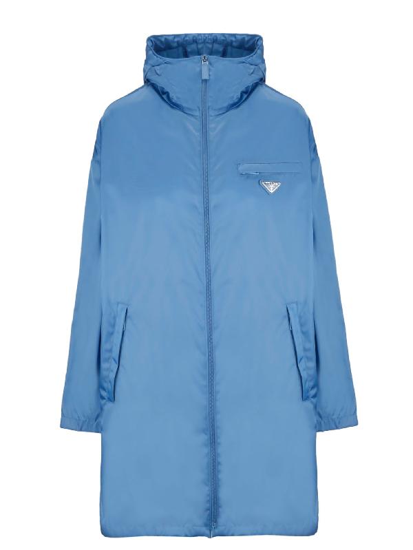 fba1136c3c Prada Women. PRADA. Women's 291428I18F0237 Blue Polyamide Outerwear Jacket