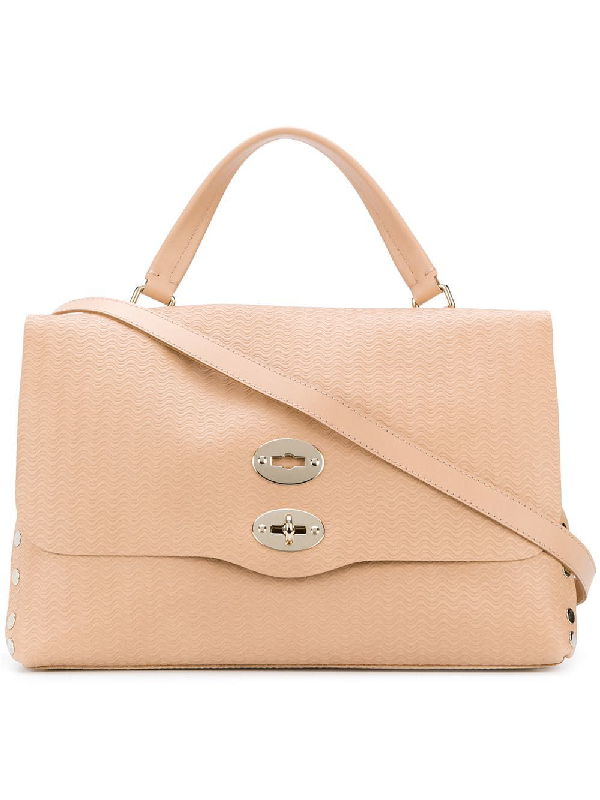 Zanellato Pink Leather Handbag