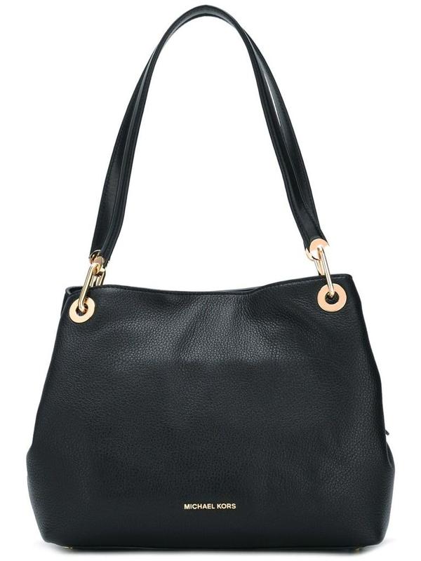 Michael Michael Kors Michael Kors Women's Black Leather Shoulder Bag