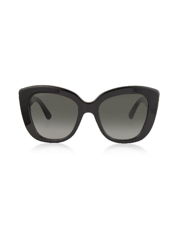 Gucci Women's Gg0327S001 Black Acetate Sunglasses