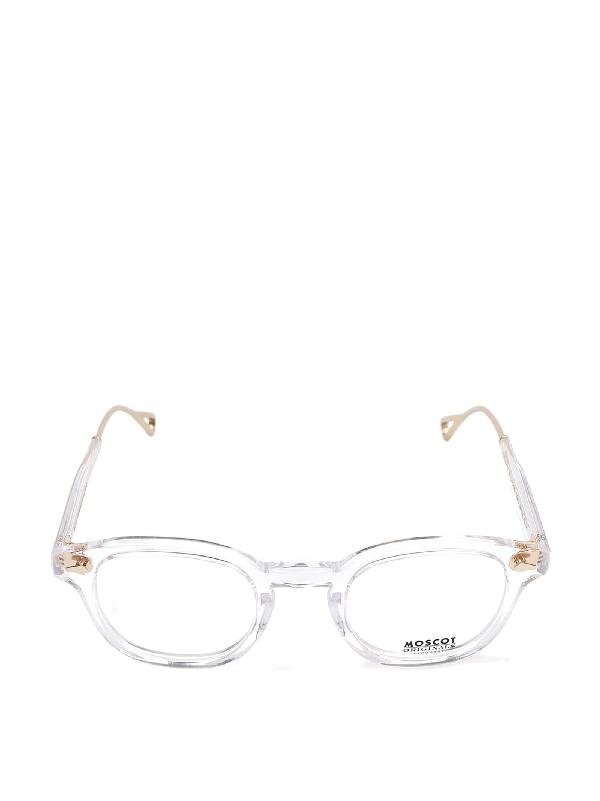 Moscot Women's White Acetate Glasses