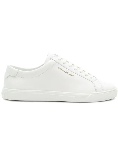 Saint Laurent Women's 5337260M5009030 White Leather Sneakers