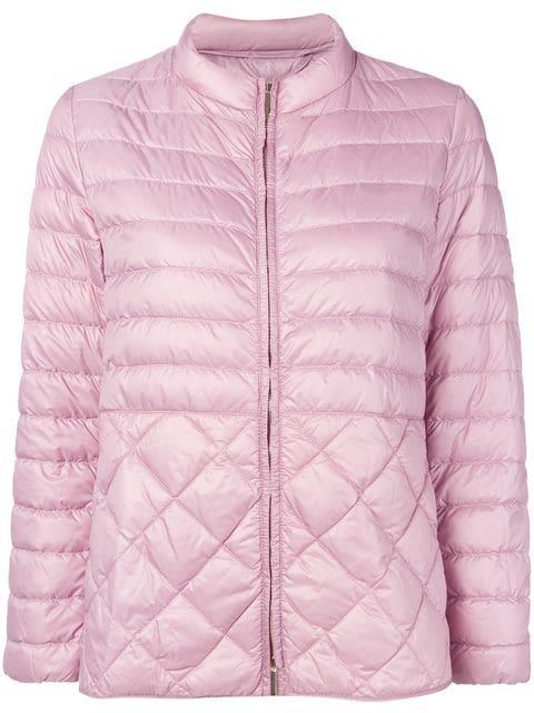 ad02d47b74d Max Mara Women's 94810297000013 Pink Polyamide Down Jacket   ModeSens