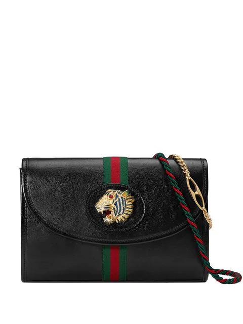 Gucci Women's 5646970Olkx8389 Black Leather Shoulder Bag