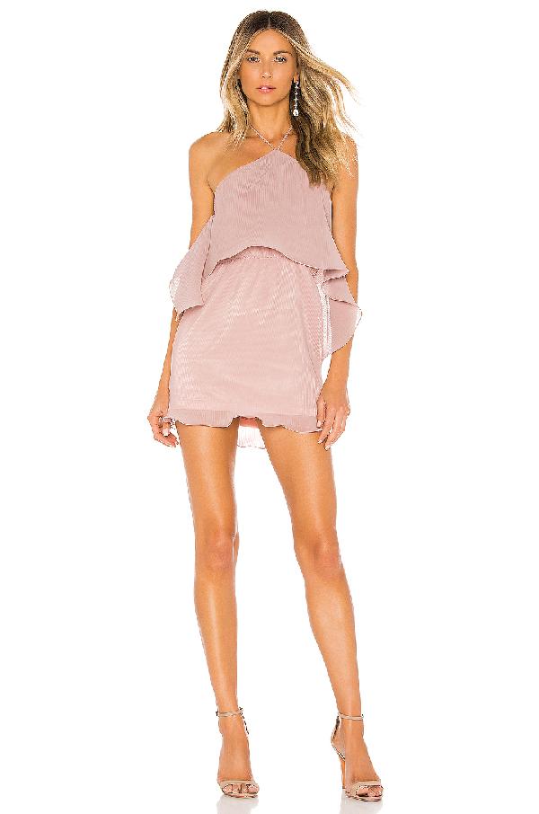5ce96ab0c52b Superdown Caty Tiered Mini Dress In Blush | ModeSens
