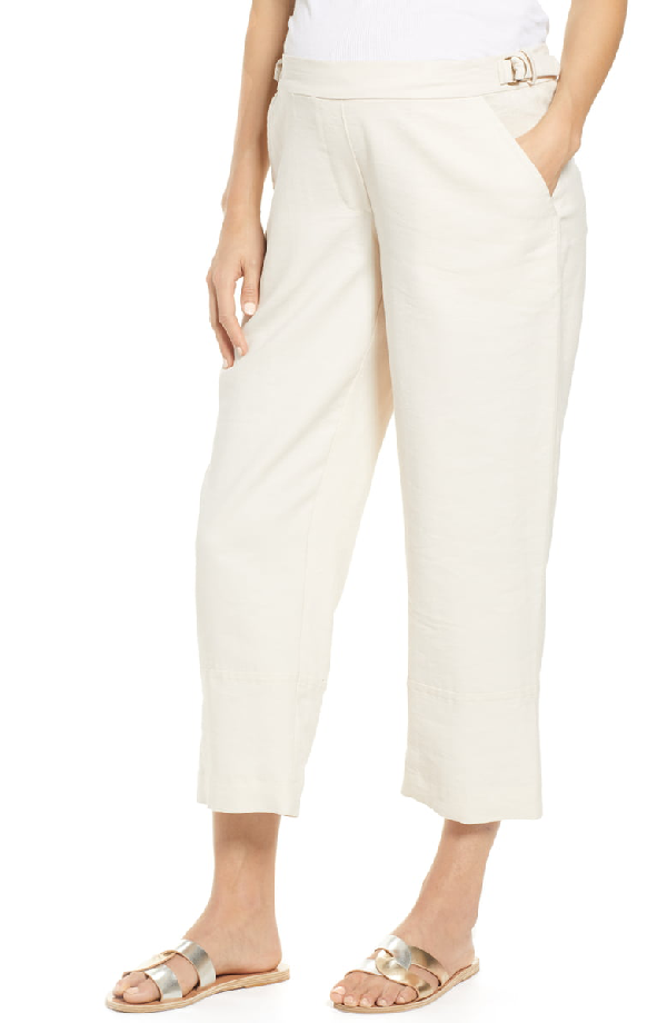 Hatch Rory Pants In Ivory