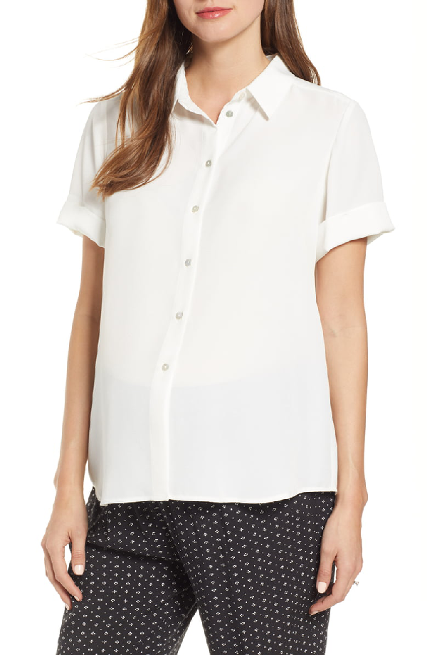 Hatch Savannah Top In White
