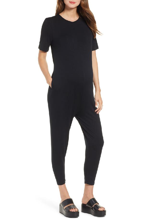 Hatch Walkabout Jumpsuit In Black