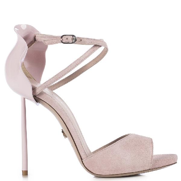 Le Silla Petalo Sandal 120 Mm In Macaron