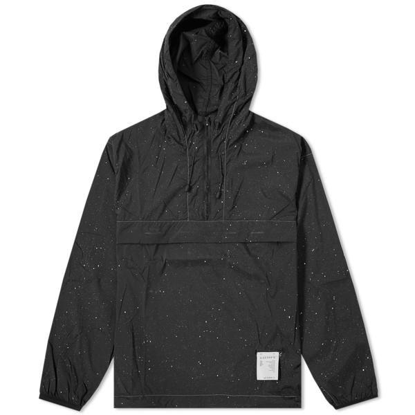 Satisfy Popover Running Jacket In Black