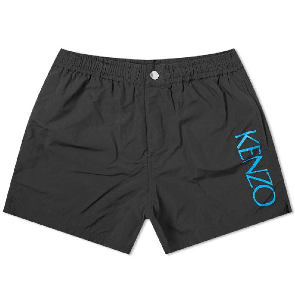 a5b3f9ec Kenzo Logo Swim Short In Black | ModeSens