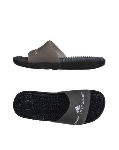 Adidas By Stella Mccartney Adissage Logo Pool Slides In Black