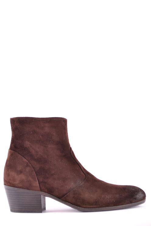 Henderson Baracco Shoes  In Burgundy