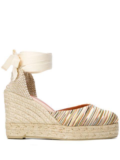 446fb2d510b Castañer X Missoni Carina Wedge Sandals - Neutrals