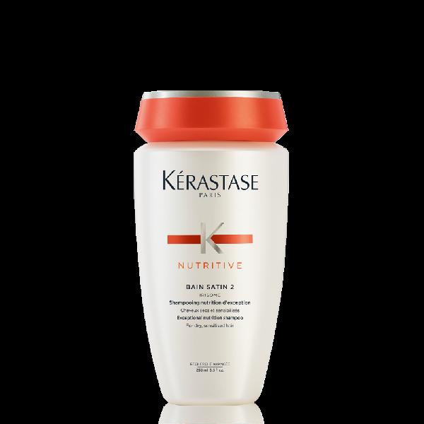 Kerastase Nutritive Bain Satin 2 Shampoo For Very Dry Hair 8.5 Fl Oz / 250 Ml