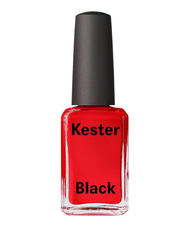 Kester Black Nail Polish In Rouge