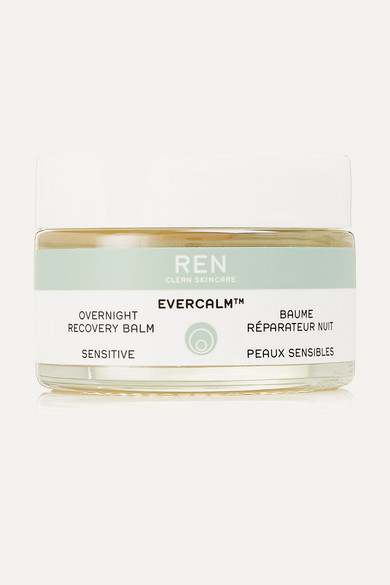 Ren Clean Skincare Evercalm™ Overnight Recovery Balm, 30ml In Colorless