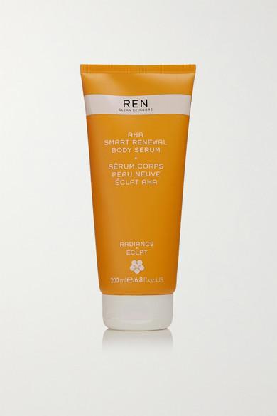 Ren Clean Skincare Aha Smart Renewal Body Serum, 200ml - One Size In Colorless