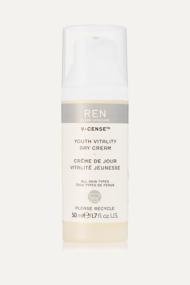 Ren Clean Skincare V-cense™ Youth Vitality Day Cream, 50ml In Colorless