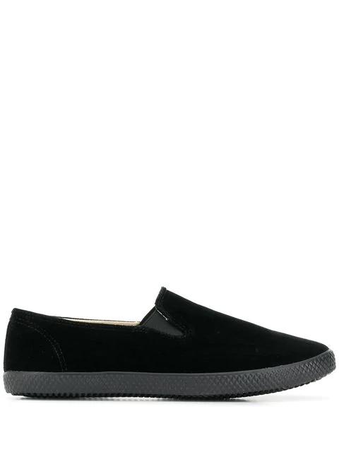 Yohji Yamamoto Classic Slip-On Sneakers - Black
