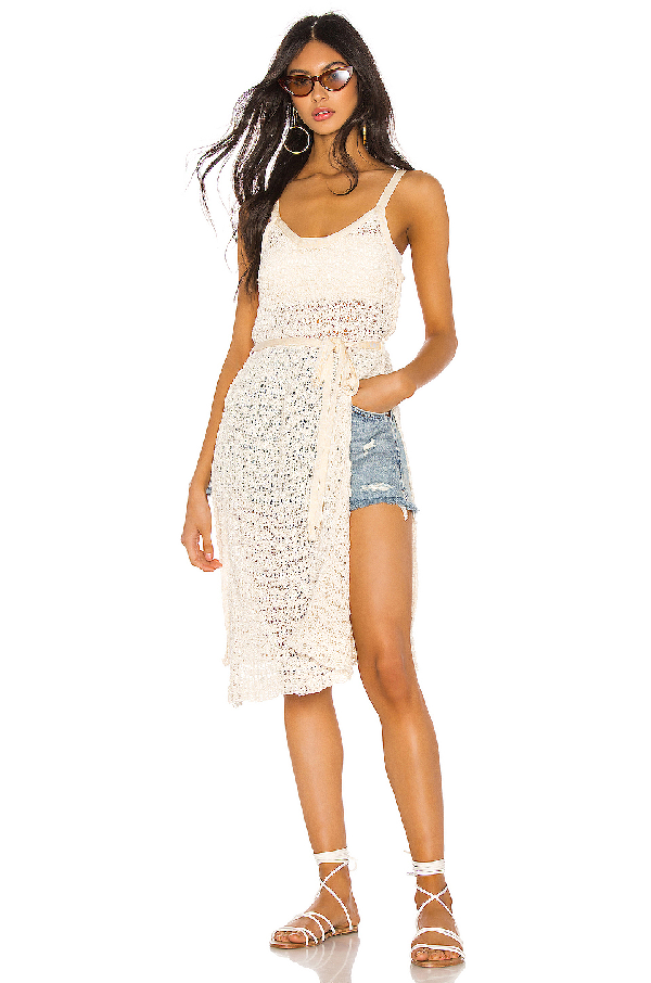 Free People Bottom Of The Sea Tunic In Ivory