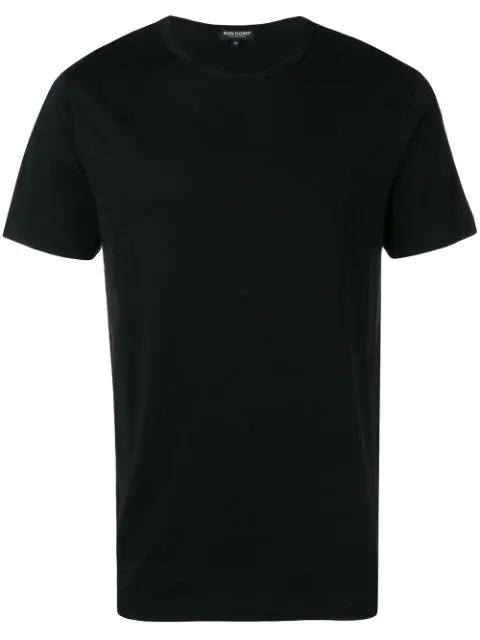 Ron Dorff Round Neck T-shirt In Black