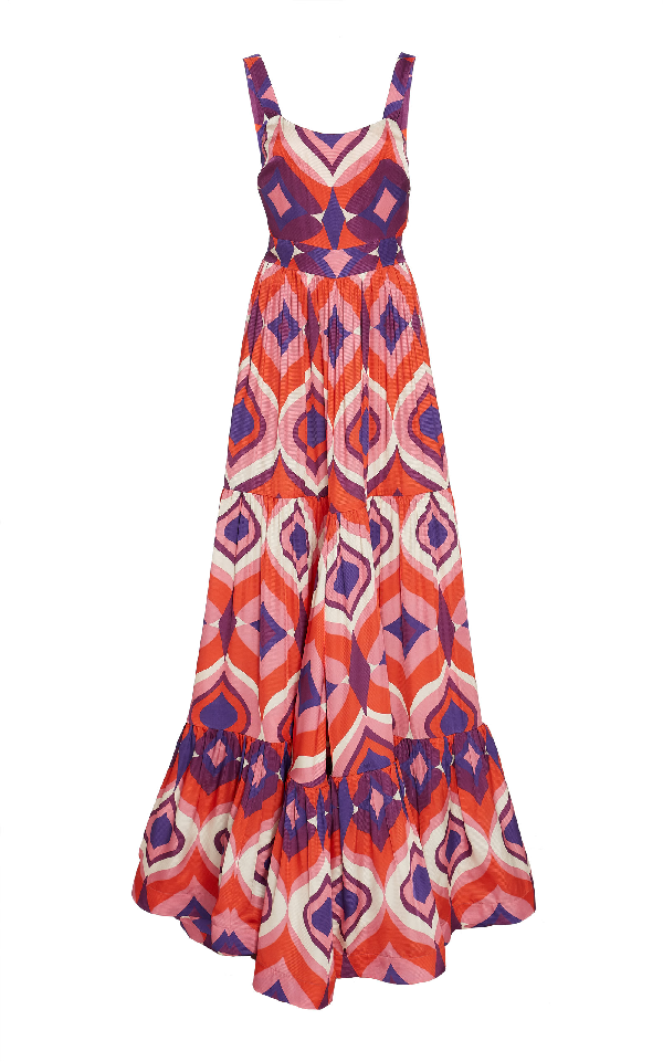 86c045598e035 Alexis Jourdan Geo-Print Sleeveless A-Line Dress   ModeSens