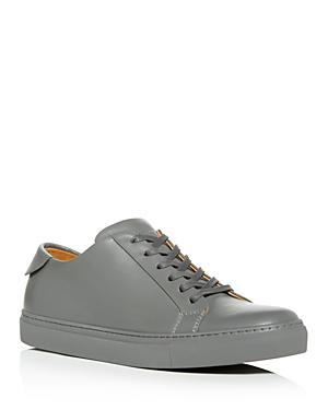 c8c1b41ee6c9 Collegium Men's Pillar Leather Low-Top Sneakers In Gray | ModeSens