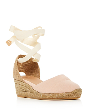 3487eee2e65 Women's Carina Ankle-Tie Espadrille Wedge Sandals in Rosa Palo