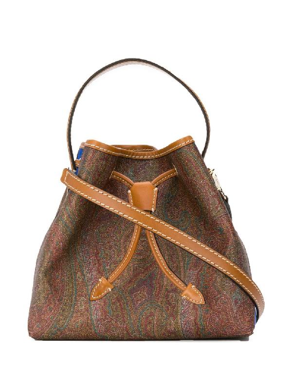 huge discount 823c9 de83e Shopping Tribe Paisley Satchel Bag in Brown