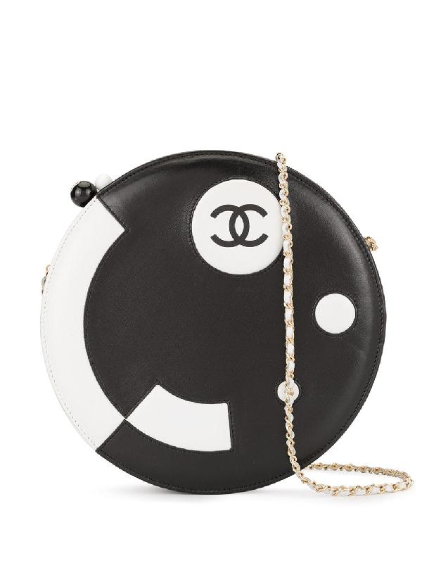 2687bba0 Chanel Pre-Owned Runde Schultertasche - Schwarz In Black | ModeSens