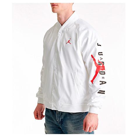 e702f1d4141 Nike Men's Jordan Jumpman Stadium Jacket, White | ModeSens