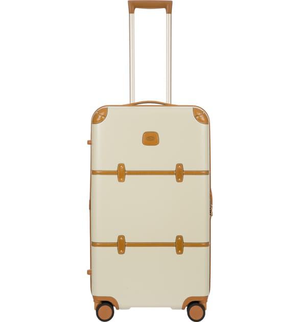 Bric's Bellagio 30-inch Spinner Trunk Suitcase In Cream