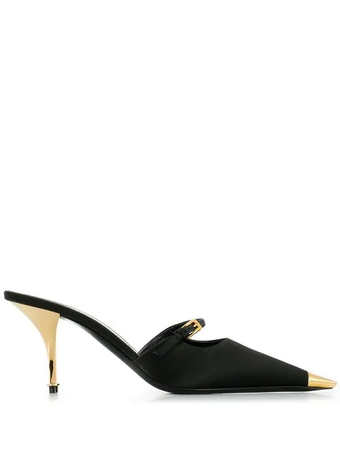 Tom Ford Pointed Pumps In Black