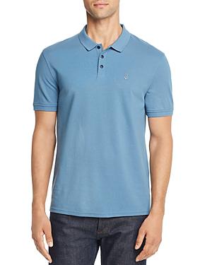 John Varvatos Peace Sign Pique Regular Fit Polo Shirt - 100% Exclusive In Summer Sky
